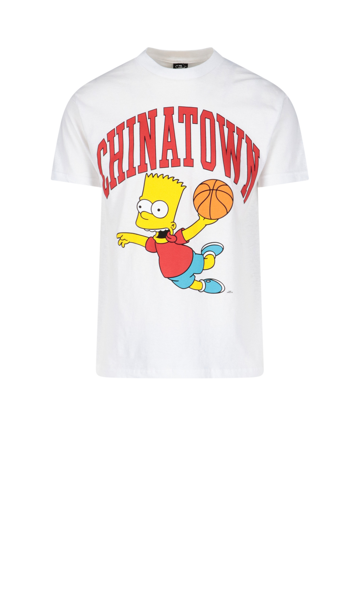Chinatown Market X The Simpsons 'air Bart Arc' T-shirt In White
