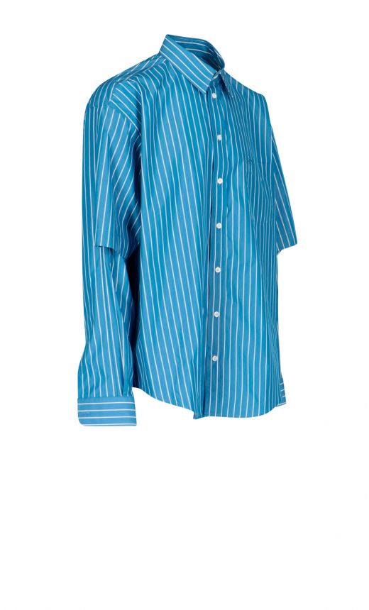 Camicia righe Double Sleeve