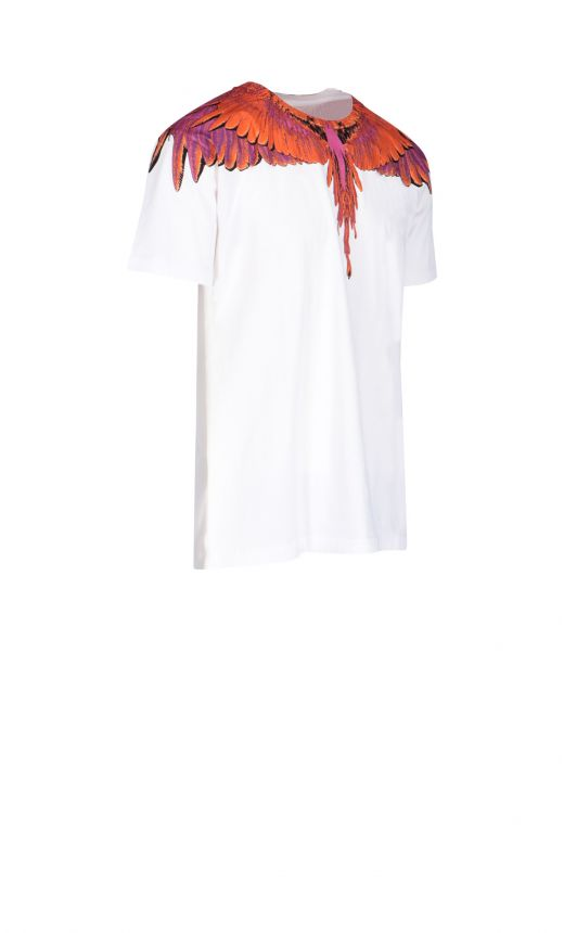 T- shirt stampa Red Ghost Wings