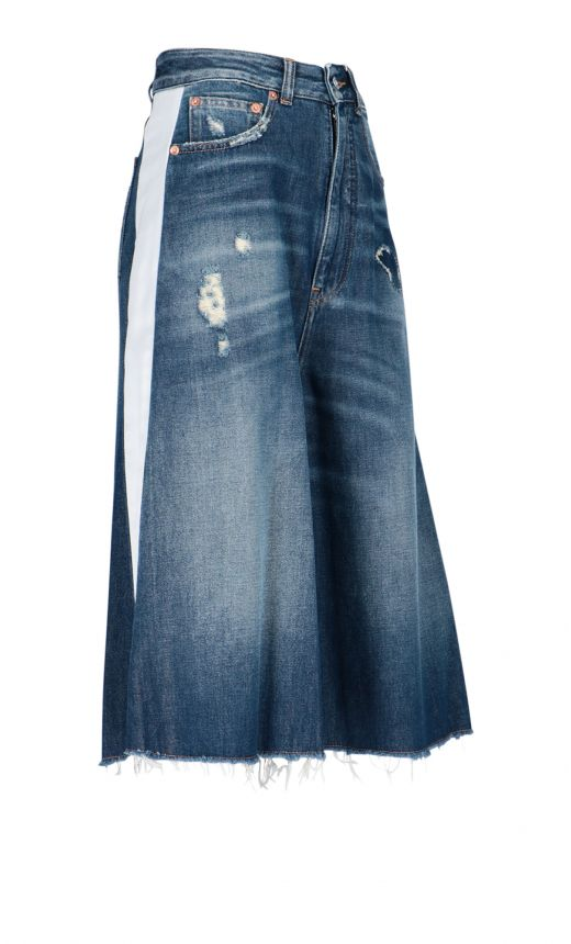 Culotte midi denim