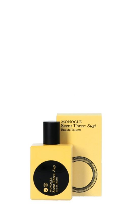 Profumo Monocle scent three sugi