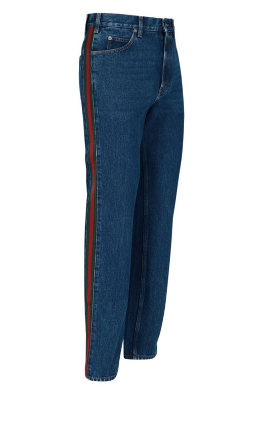 Pantalone denim Marble washed