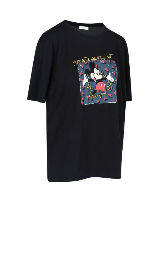 T-shirt stampa Mickey Mouse