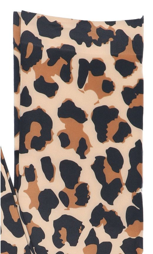 Collant stampa animalier