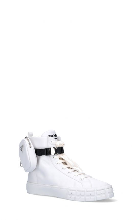 Sneakers high-top re-nylon