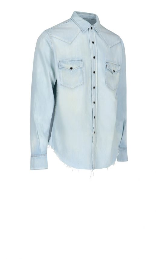 Camicia western jeans