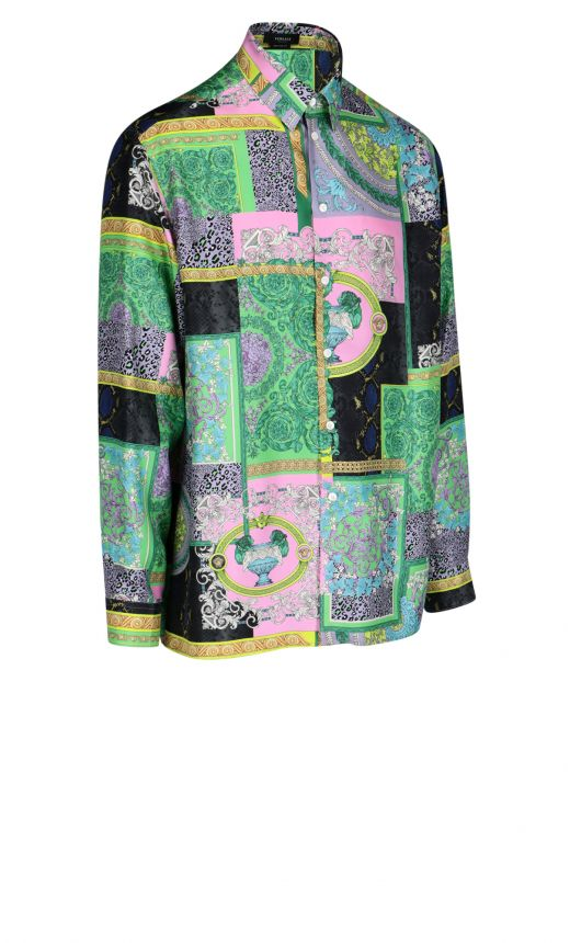Camicia Stampa BaroccoPatchwork