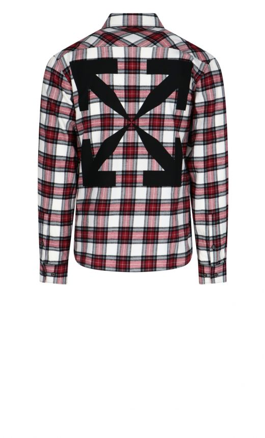 Camicia Check Logo Arrow