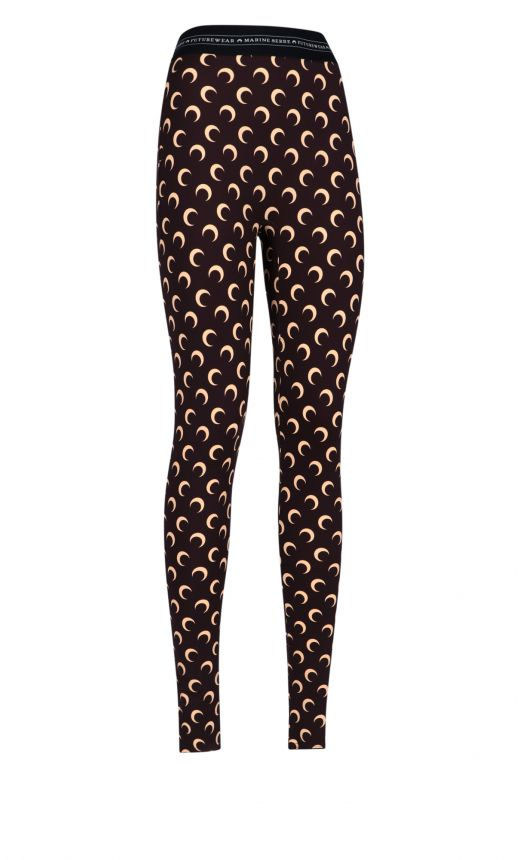 Leggins stampa Moon