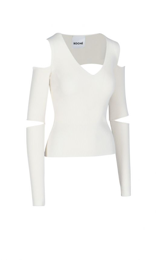 Top a costine Cut-out