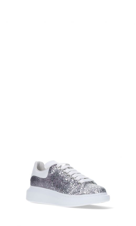 Sneakers suola chunky strass