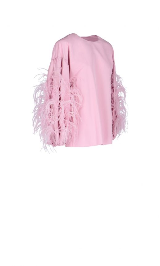 Blusa Feather sleeve